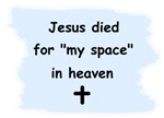 Jesus died for