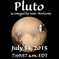 Pluto by New Horizons