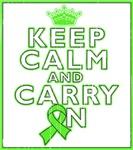 Lymphoma Keep Calm Carry On Shirts