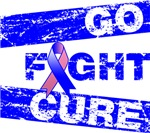 Male Breast Cancer Go Fight Cure Shirts