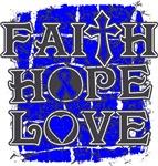 Rectal Cancer Faith Hope Love Shirts