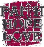 Multiple Myeloma Faith Hope Love Shirts