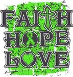 Lymphoma Faith Hope Love Shirts