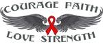 Heart Disease Courage Wings