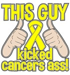Osteosarcoma Cancer This Guy Kicked Cancer Shirts