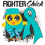Gynecologic Cancer Fighter Chick Shirts