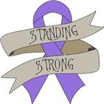 Hodgkins Lymphoma Standing Strong Shirts