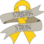 Childhood Cancer Standing Strong Shirts