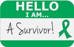 Liver Cancer Hello I'm A Survivor Shirts