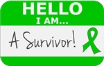 Bile Duct Cancer Hello I'm A Survivor Shirts