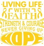 COPD Living Life With Faith Shirts