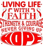 Aplastic Anemia Living Life With Faith Shirts