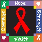 Blood Cancer Courage Hope Shirts
