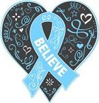 Prostate Cancer Believe Shirts