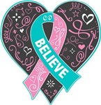 Hereditary Breast Cancer Believe Shirts