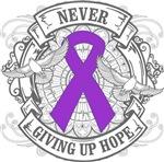 Fibromyalgia Never Giving Up Hope Shirts