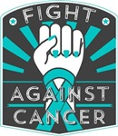 Fight Against Ovarian Cancer Shirts