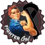 Skin Cancer Fighter Gal Shirts