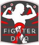 Oral Cancer Fighter Diva Shirts