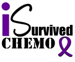 I Survived Chemo Pancreatic Cancer T-Shirts