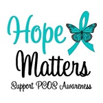 Hope Matters PCOS Awareness T-Shirts & Gifts
