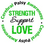 Cerebral Palsy Strength Support Love Shirts