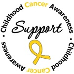 Childhood Cancer Support Shirts & Gifts