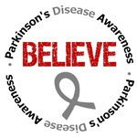 Parkinson's Disease Believe Shirts & Gifts
