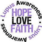 Lupus HOPE LOVE FAITH T-Shirts & Gifts