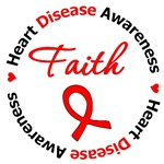 Heart Disease FAITH Shirts & Gifts