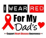 I Wear Red Dad Heart Disease Shirts & Gifts