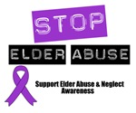 Stop Elder Abuse Awareness Shirts & Gifts