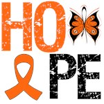 Kidney Cancer Hope Butterfly Shirts & Gifts