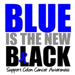Colon Cancer Blue is The New Black Shirts & Gifts