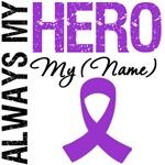 Always My Hero Pancreatic Cancer Shirts & Gifts