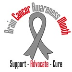 Brain Cancer Awareness Month Gifts & Tees