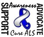 Cure ALS Ribbon