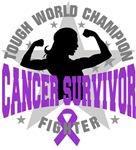 Leiomyosarcoma Cancer Tough Survivor Shirts