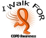 I Walk For COPD Awareness Shirts
