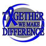 Colon Cancer Together We Make A Difference Shirts
