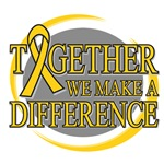 Childhood Cancer We Make A Difference Tees