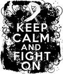Bone Cancer Keep Calm Fight On Shirts