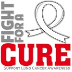 Lung Cancer Fight For A Cure Shirts