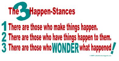 The 3 Happenstances