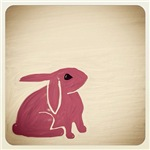 Bunny Finger Drawings