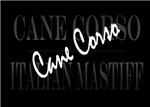 Cane Corso Graphics on Black