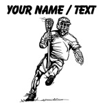 Custom Lacrosse Player