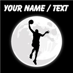 Custom Basketball Layup Moon