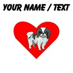 Custom Japanese Chin Heart