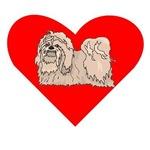 Lhasa Apso Heart